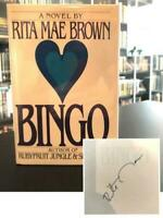 Bingo SIGNED FIRST EDITION - FIRST PRINTING - Rita Mae Brown