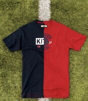 KITH T shirt El Clasico Split Tee Miami Limited Edition - Red and Black (Small)