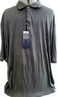 Nat Nast-Mens Golf Polo Shirt, Extra Large-XL, Dark Gray, New w/ Tags!