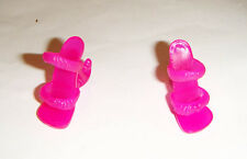 Monster High Doll Sized Pink Slippers Shoes/Heels For Monster High Dolls mh149
