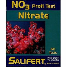 TEST UNTERSUCHUNG NO3 NITRAT profi test. Marke SALIFERT.SPEZIELL MARINE