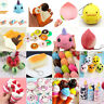 Kawaii Jumbo Squishy Slow Rising Fruits Animals Phone Straps Stress Charms Toys