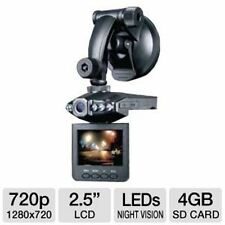 "Proximus High Definition Car DVR LCD 720p 2.5"" LCD H.264 Night Vision P16-41473"