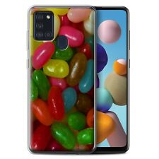 eSwish Gel/TPU Phone Case for Samsung Galaxy A21s 2020 /Sweets & Candy