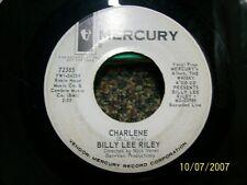 Billy Riley Charlene/ Mojo Workout 45 RPM VG