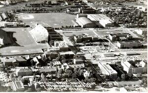 ~1940's LINCOLN NE - Aerial RPPC - Univ. of Nebraska Campus - Real Photo view