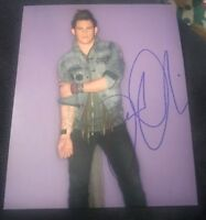 JAMES DURBIN SIGNED 8X10 PHOTO AMERICAN IDOL W/COA+PROOF RARE WOW