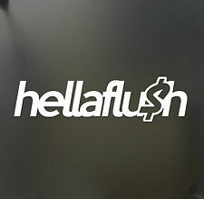 hellaflush sticker WRX jdm $ lowered drift hella flush Funny JDM hooligan decal