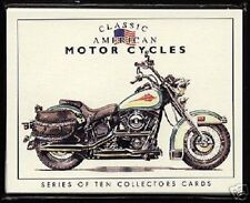 CLASSIC AMERICAN MOTOR CYCLES CARDS Harley Davidson Indian Henderson & Excelsior