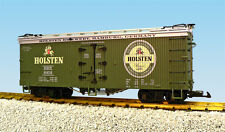 Usa Trains G Scale R16372 Holsten Bier Reefer-Green/Silv