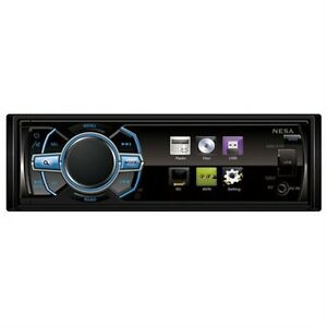 """New NSD-345B 3.4"""" Wide Single Din Digital Monitor with built-in DVD/USB/SD/MMC"""