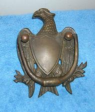 Bronze/Brass Bald Eagle Door Knocker