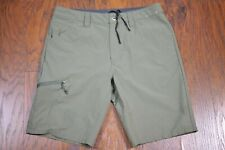 "Patagonia Quandary Hiking 10"" Shorts Green Men's 32"