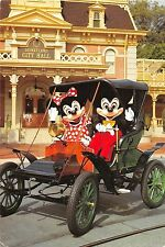 BF40839 mickey mouse and minnie touring town square  disney  cartoon movie star