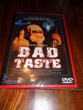 NEW SEALED PETER JACKSON'S BAD TASTE DVD ADULT COMEDY DER HERR DER RINGE DEUTSCH