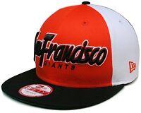 Adult MLB® New Era® San Francisco Giants 9Fifty® Block Snapback Hat Cap