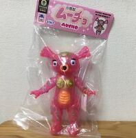 PICOPICO MUCHO 9in. Pink Kaiju Gakky Sofubi Sofvi Vinyl Figure Toy Japan F/S