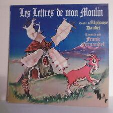 """33T LETTRES MON MOULIN Disque LP 12"""" Frank FERNANDEL Conte DAUDET - NEUILLY 2026"""