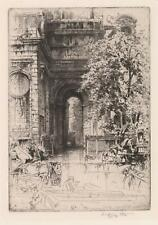 Hedley Fitton Etching Lot 179