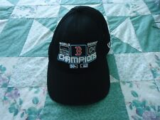 Men's One Size Boston Red Sox 2004 World Series Champions Black Ball Cap