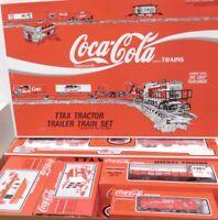 ✅K-LINE COCA COLA TTAX TRACTOR TRAILER O GAUGE TRAIN SET NEW! FITS MTH LIONEL