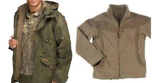 Hillman Norther Jacket Green and fleece bundle, Stalking Shooting Fishing BNWT