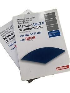 Manuale blu 2.0 di matematica. Libro: Plus con  tutor (Vol. 3/A-B)