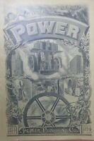 Power Journal, (New York) 1894, 10 year anniversary edition, great illustrations