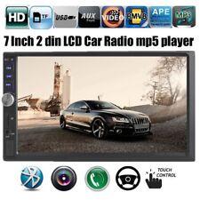 "7"" MP5 MP3 Player Double Car Radio Stereo 2 Din Bluetooth FM AUX USB Head Unit"