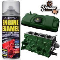 Classic Car Engine & Rocker Cover Ceramic Resin Enamel Racing Green Paint 400ml
