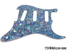 * NEW Abalone Pearl Stratocaster PICKGUARD for Fender Vintage Strat 3 Ply 8 Hole