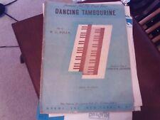 WC Polla, arr  Charles Cronham: Dancing Tambourine, organ (Harms)