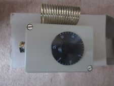 JUNO No/NC 16A AMDR room thermostat - Fan / Heater Controller Blkdr 1584509