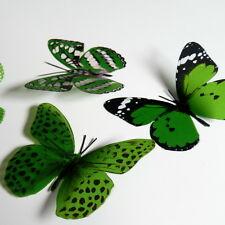 100 Pack Butterflies - Kelly Green - 5 to 6 cm - Cakes, Weddings, Craft, Cards,