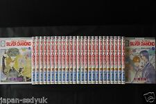 JAPAN Shiho Sugiura manga: Silver Diamond 1~27 Complete Set