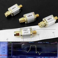 2.4GHz 2440MHz RF coaxial bandpass filter/SMA for WiFi  Bluetooth Zigbee Signal