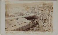Carlo Ponti Terrazzo Genova Italia CDV Foto Vintage Albumina c1860-5