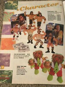 1994 WWF Catalog Shirt Harbro Action Figure UNDERTAKER SHAWN MICHAELS LEX LUGER