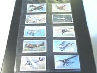 1938 AIRCRAFT of the RAF planes military Complete Players Tobacco Card Set 50