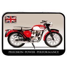 Triumph Tiger Cub Motorbike Metal Keepsake Tin Men Gift Storage Licensed 50478