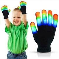 LED Gloves Light Up Kids Toys Boys Girls for Age 5 6 7 8 9 10 Years Fun Trick