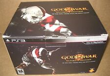 PS3 God of War III Ultimate Edition (Sony PlayStation 3, 2010) Complete