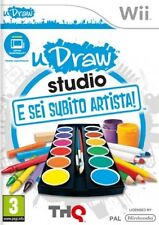 E was Subito Artista! - uDraw Nintendo Wii it import THQ