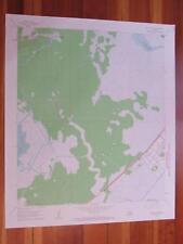 Bayou Boeuf Louisiana 1963 Original Vintage Usgs Topo Map