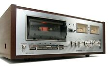 PIONEER CT-7272 VINTAGE CASSETTE DECK SERVICED  DOLBY W MANUAL * NICE!