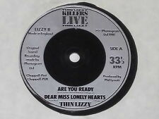 "THIN LIZZY -Are You Ready- 7"" 45"