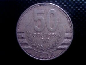 COSTA RICA     50   COLONES   1999     JUL13F