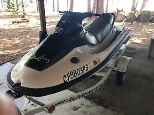 2001 Kawasaki 900 10' Jet Ski & Trailer - California