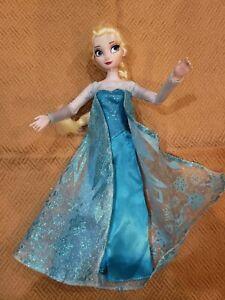"Disney Store Frozen ELSA DOLL 12"" 🤩"
