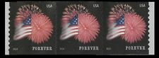 US 4854 Star-Spangled Banner forever coil strip APU (3 stamps) MNH 2014